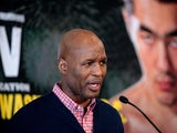 US boxer Bernard Hopkins speaks during a press conference in Washington,DC on March 11, 2014
