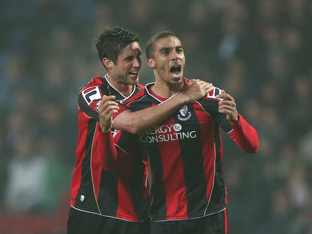 Result: Grabban brace fires Bournemouth to win