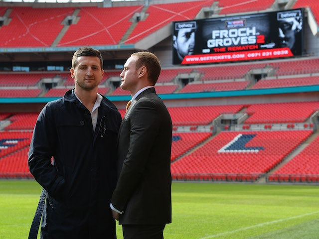 Live Coverage: Froch vs. Groves II - press conference - as it happened