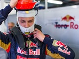 Daniil Kvyat of Toro Rosso prepares to drive for qualifying for the Australian Formula One Grand Prix on March 15, 2014