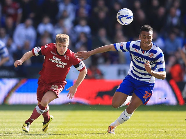 Result: Reading, Derby draw a blank