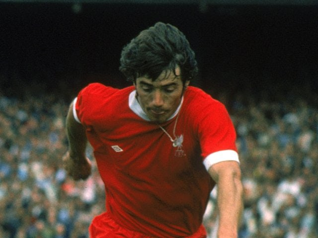Kevin Keegan in action for Liverpool on August 15, 1975.