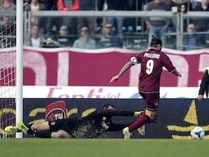 Nine-man Livorno edge past Bologna