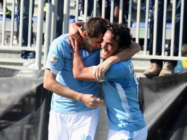 Result: Lazio ease past Cagliari