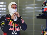 Sebastian Vettel of Red Bull prepares to drive during practise for the Australian Formula One Grand Prix on March 15, 2014