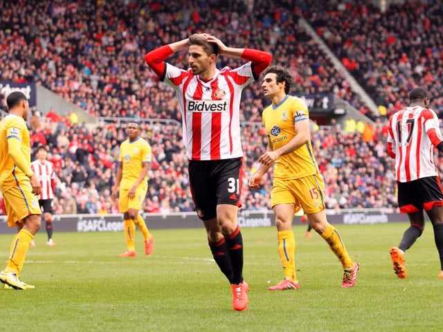 Result: Sunderland, Palace play out goalless draw