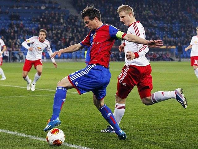 Result: Basel, Salzburg finish goalless