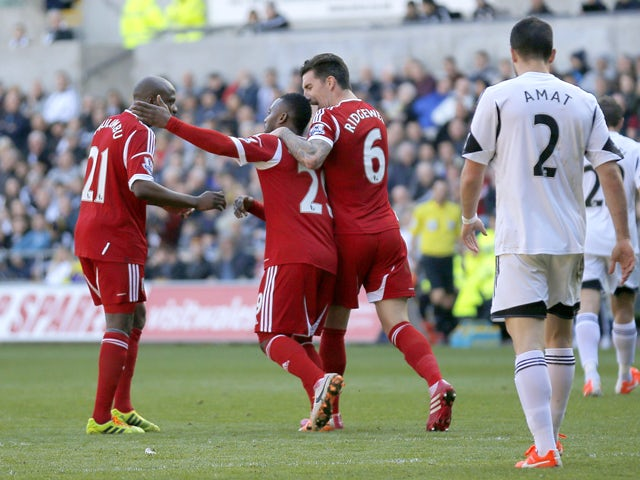 Result: West Brom fightback stuns Swansea