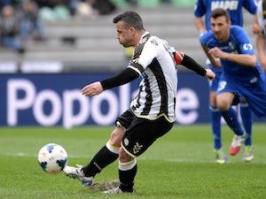 Udinese edge past Sassuolo