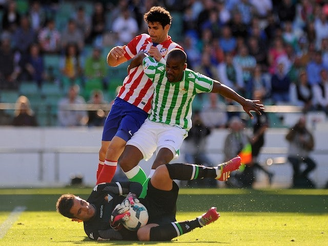 Result: Atletico Madrid go top with Betis win