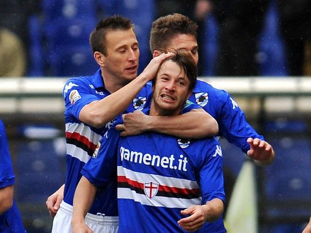 Result: Sampdoria hit five past Verona