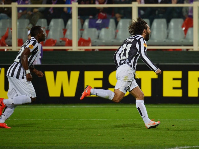 Result: Pirlo sends Juventus through