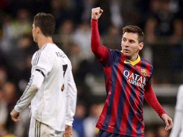 Result: Messi hat-trick downs Madrid