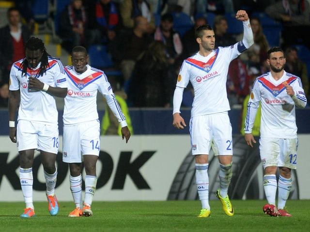 Result: Lyon advance despite defeat