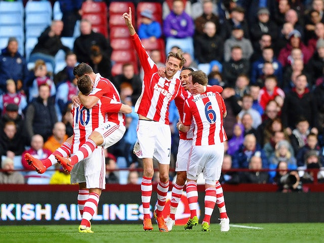 Result: Stoke ease past Aston Villa