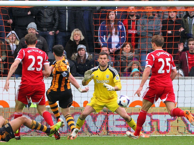 Result: Hull too good for Baggies