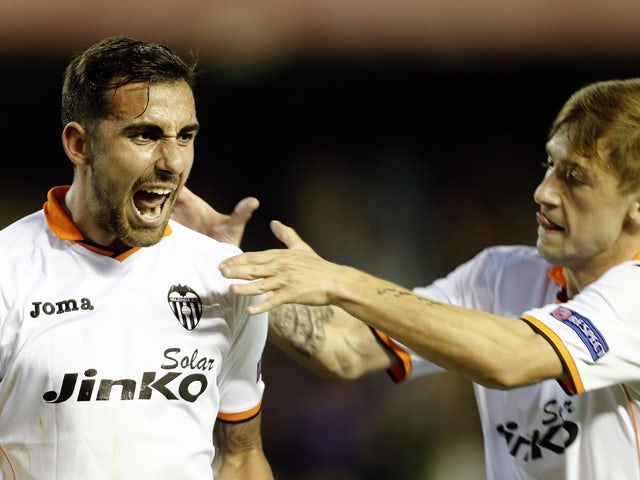 Result: Valencia advance comfortably