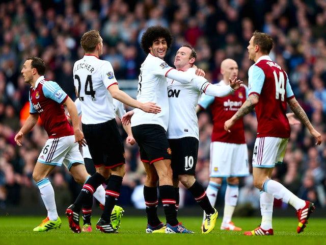 Result: Rooney brace hands Man United victory