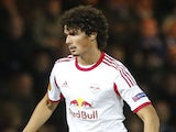 Andre Ramalho of FC Salzburg in action during the UEFA Europe League group stage match between Esbjerg fB and FC Salzburg held on October 3, 2013