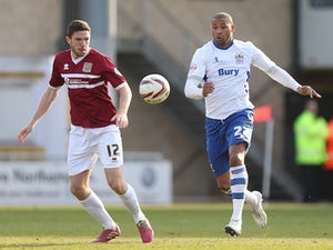 League Two roundup: Northampton secure away win