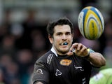 Gonzalo Tiesi of Newcastle Falcons during the Aviva Premiership match between Newcastle Falcons and Northampton at Kingston Park on February 23, 2014