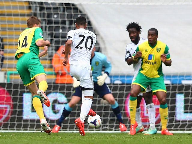 Result: Swansea ease past Norwich