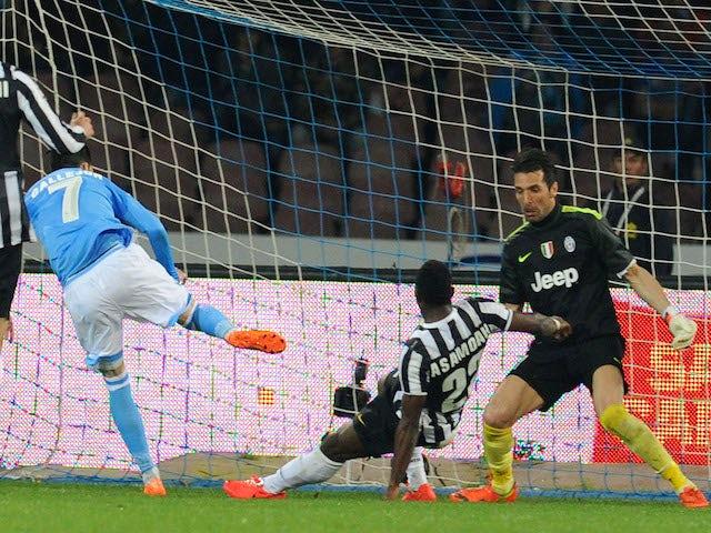 Result: Napoli end Juve unbeaten streak