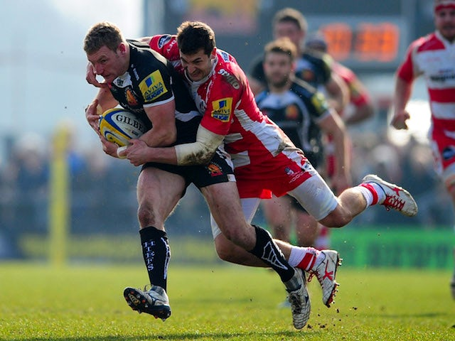 Result: Gloucester narrowly beat Exeter