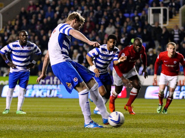 Result: Pogrebnyak fires Reading to victory