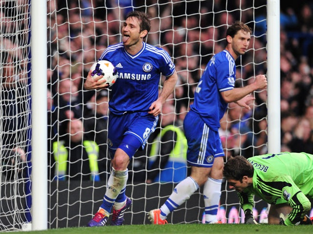 Result: Chelsea move top with Stoke win