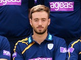 Hampshire's James Vince during his team's photocall session on April 3, 2014