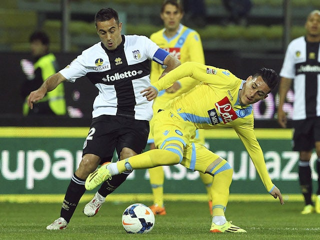 Result: Parma keep pressure on top five