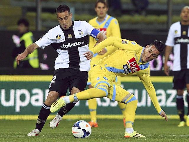 Result: Parma keep pressure on top five