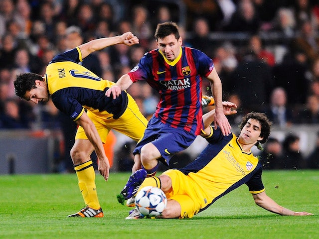 Result: Barcelona come from behind to draw with Atletico