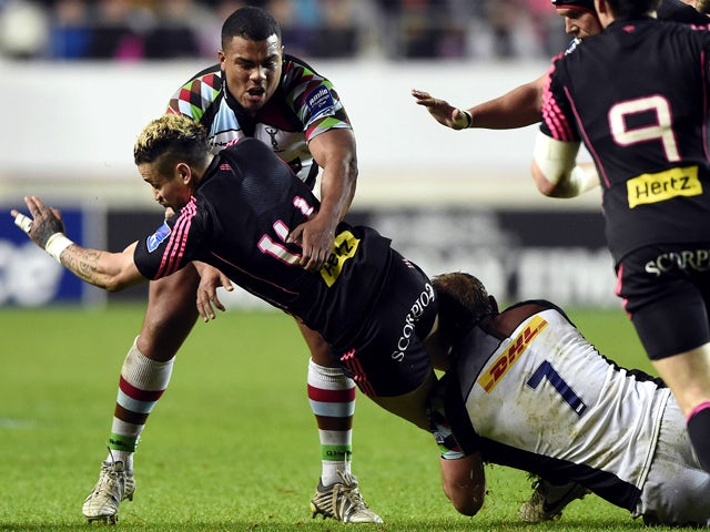 Result: Harlequins cruise into semi-finals
