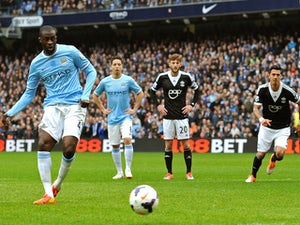 Team News: Toure misses out for Man City