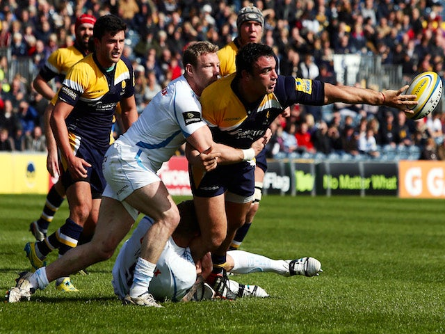 Result: Chiefs hold on to beat Worcester