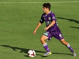 Daniel de Silva of the Glory controls the ball during the round four A-League match between Perth Glory and Sydney FC at nib Stadium on November 2, 2013