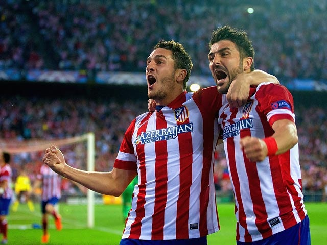Result: Koke strike knocks out Barcelona