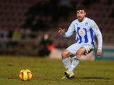 Michael Petrasso of Coventry City in action during the Sky Bet League One match between Coventry City and Carlisle United at Sixfields Stadium on February 18, 2014
