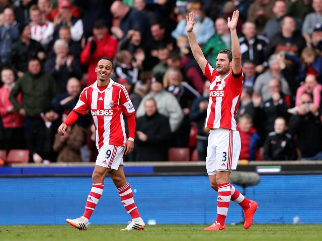 Result: Pieters's strike wins it for Stoke
