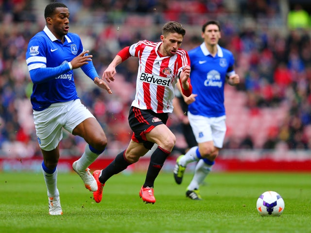 Result: Everton up to fourth with Sunderland win