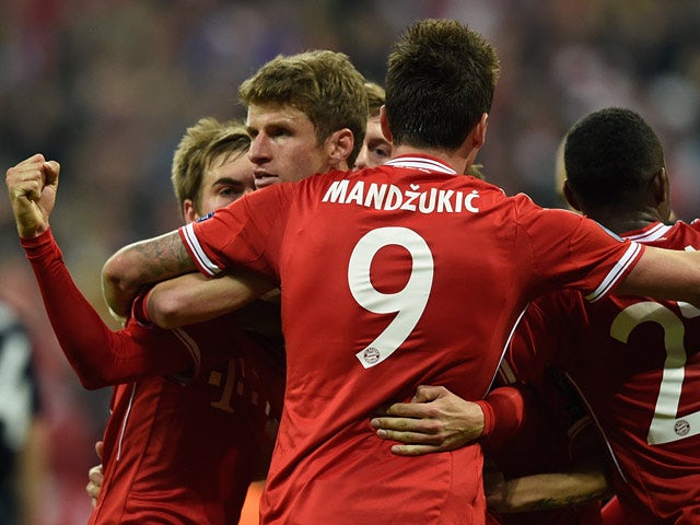 Result: Bayern come from behind to beat Man Utd