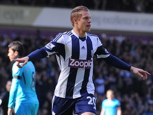 West Brom in control at The Hawthorns