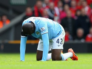 Toure to miss Spurs clash?