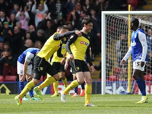 Watford too strong for Ipswich