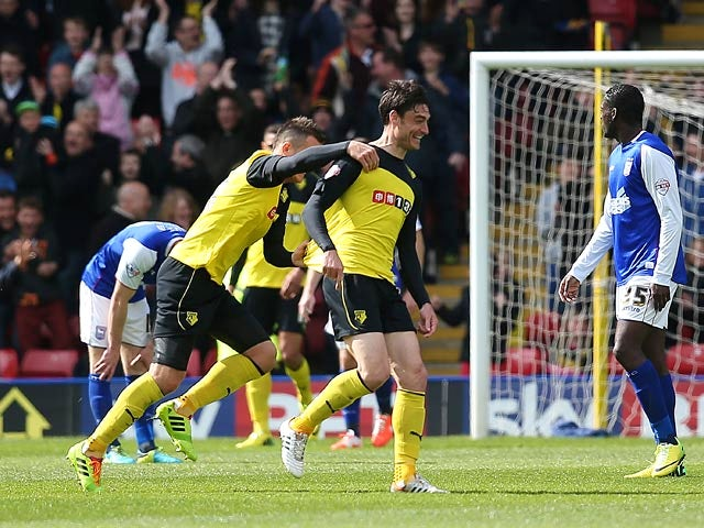 Result: Watford too strong for Ipswich