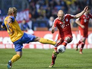 Braunschweig level with Bayern