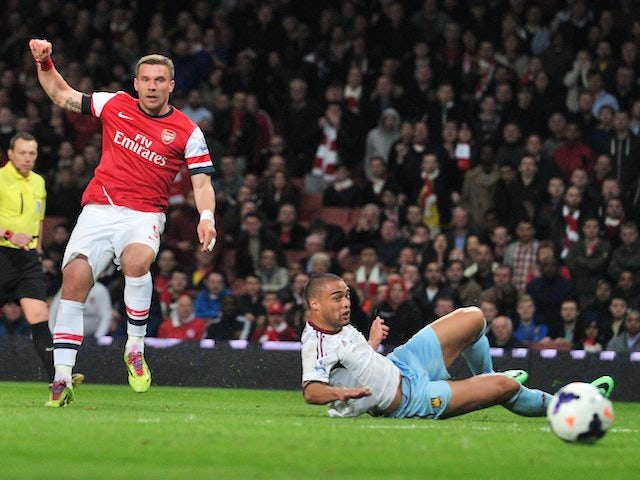 Result: Arsenal beat Hammers to go fourth