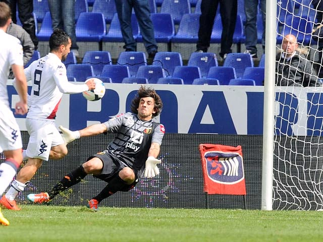 Result: Ibarbo strike gives Cagliari three points